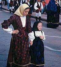 Costume Olbia