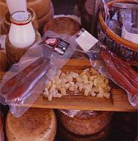 Bottarga e formaggi